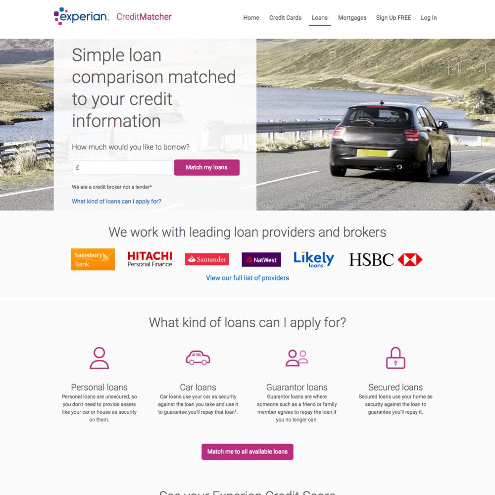 CreditMatcher loans