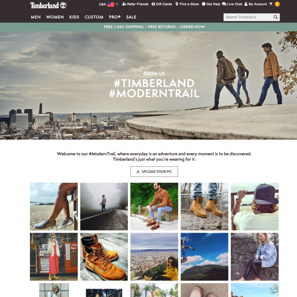 Writer and commissioning editor for Timberland