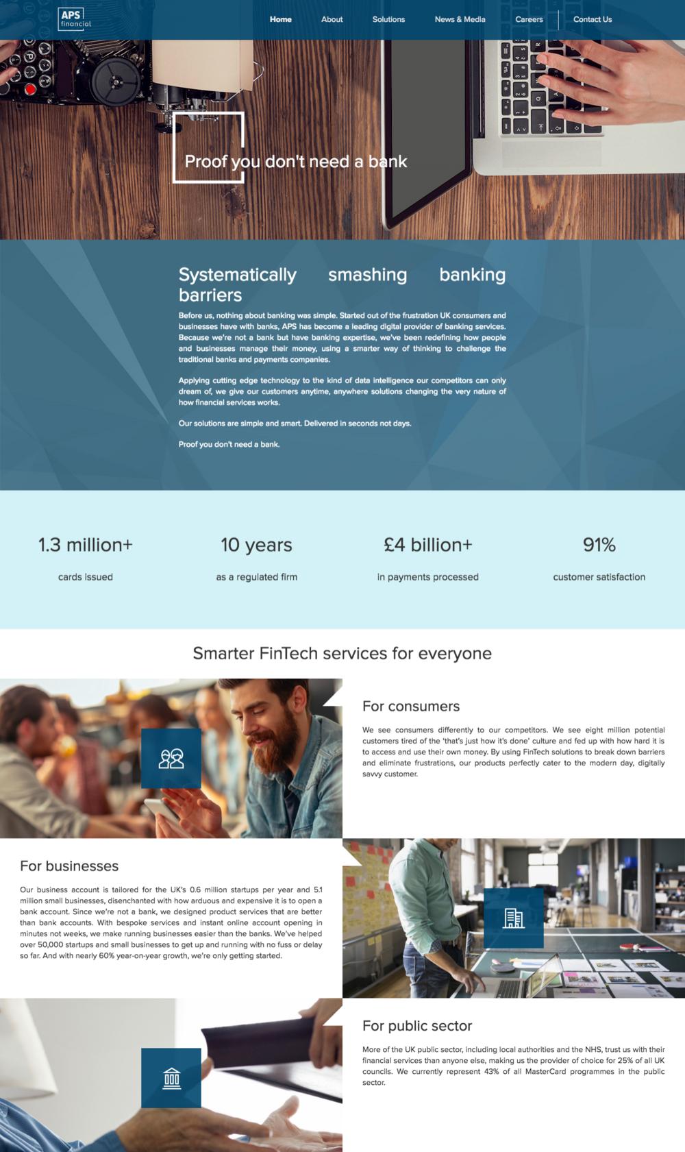 APS homepage