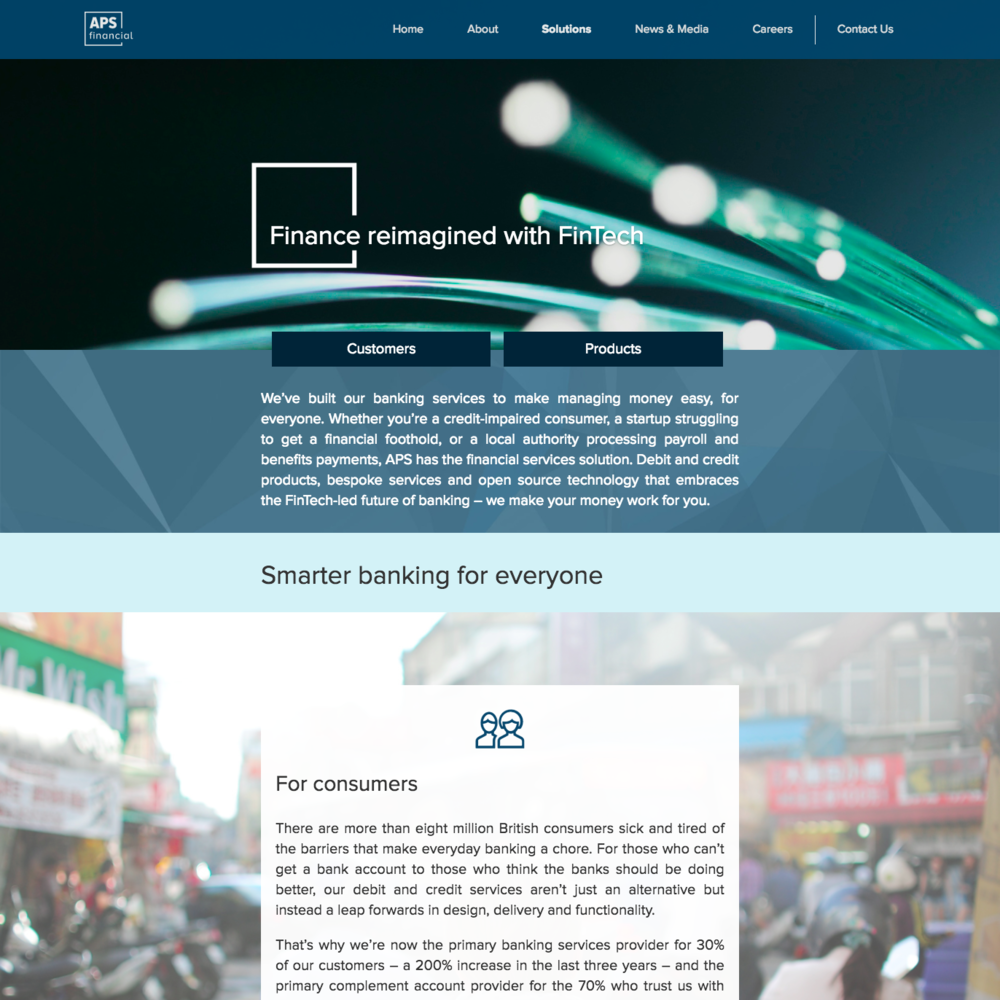 Solutions page