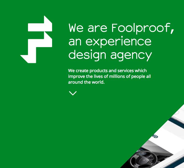 foolproof homepage