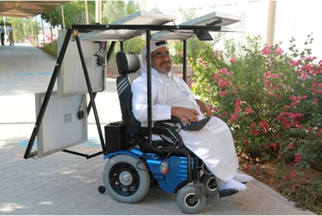 Emirati Man Undertakes 200-Mile Desert Journey in Solar Powered Wheelchair