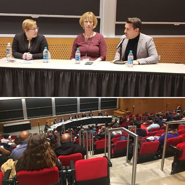 Had a great time discussing my experience running for Congress w/ other amazing Democratic candidates here at MIT (@mitpics) for students & political science professors! It's been below 20° degrees here.