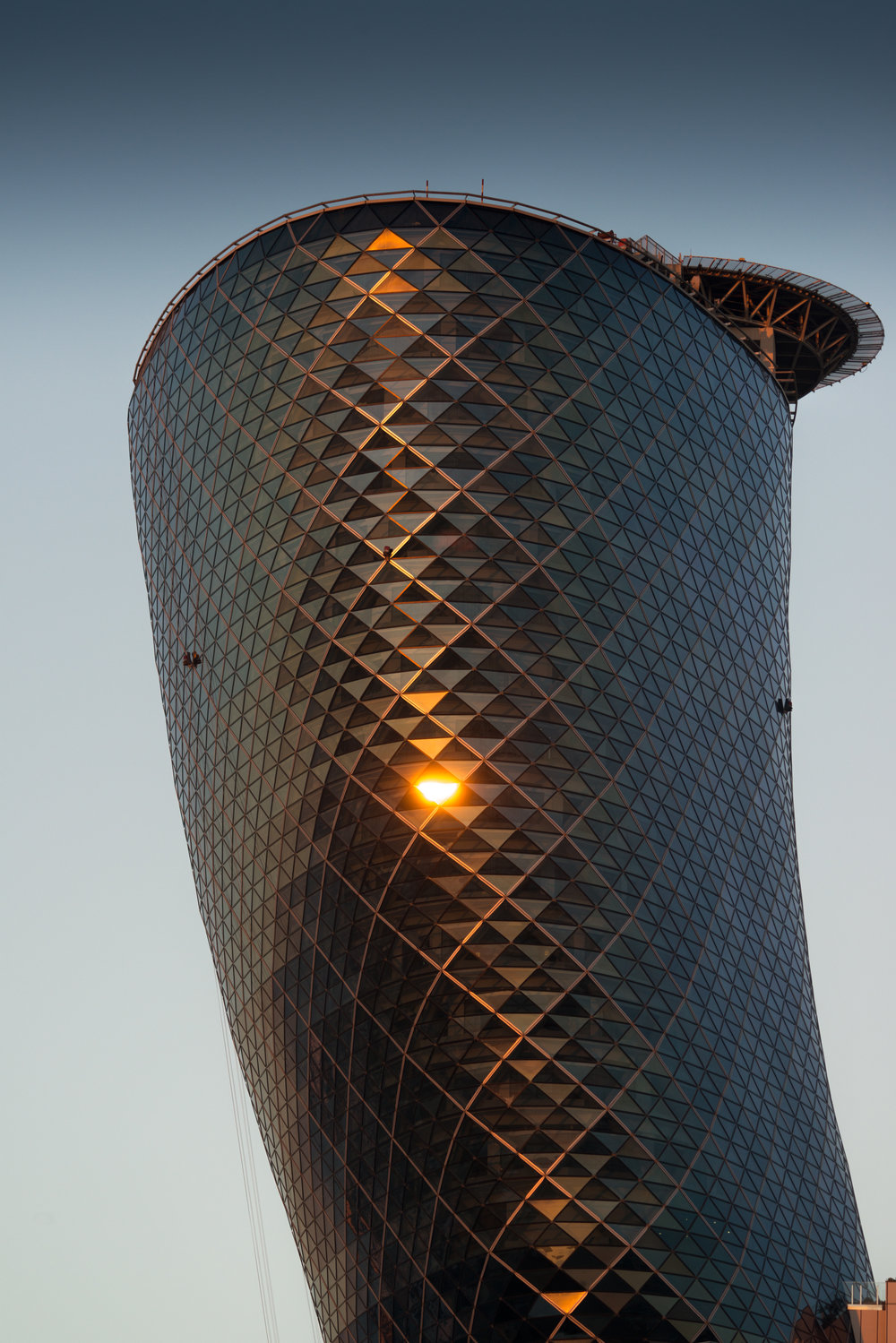 Capital Gate, Abu Dhabi : RMJM Architects