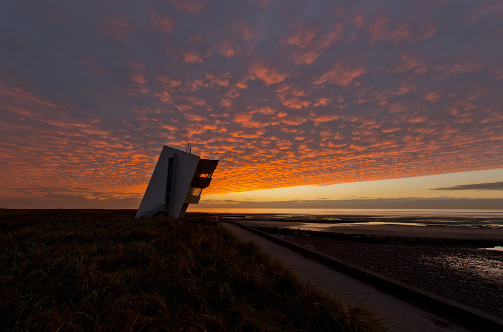 Rossall Point Observation Tower