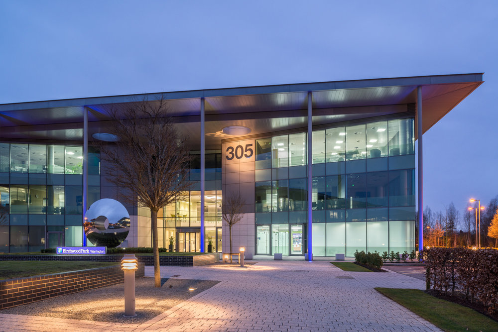 Warrington Court. Building 305 Birchwood Business Park  Commissioned by ISG plc