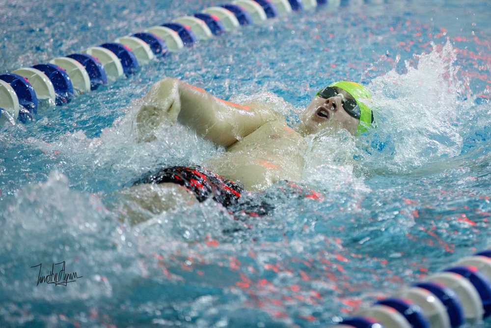 Senior Spotlight - Hunter Kramer, backstroke