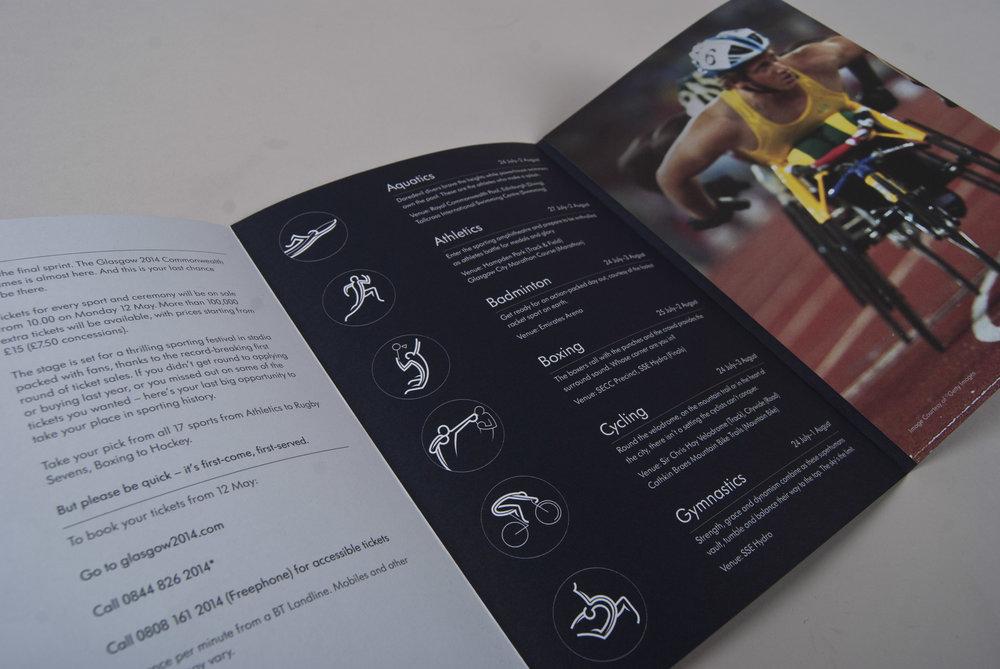 Glasgow 2014 brochure