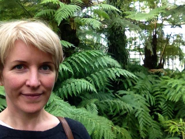 Louisa Finch at Botanics Edinburgh