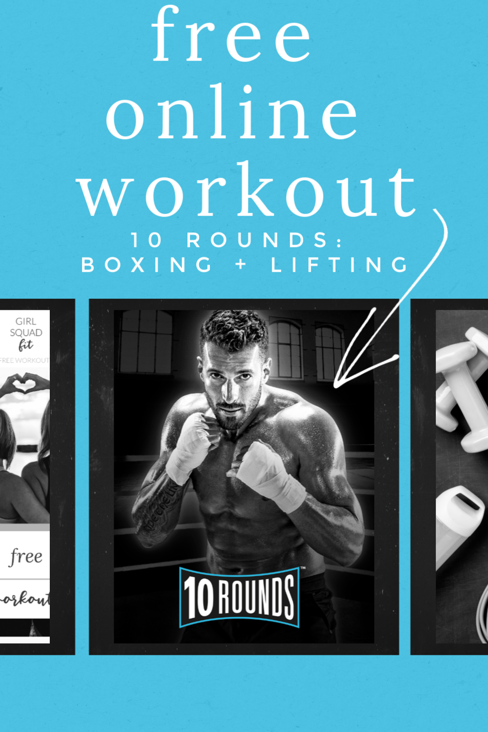 10 Rounds A Boxing And Lifting Online Home Workout Program Girl Squad Fit