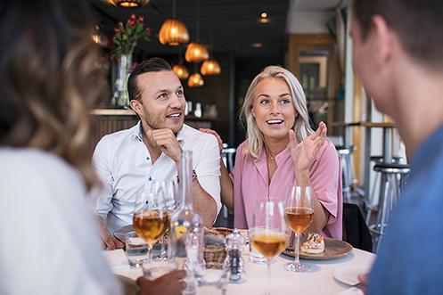 Äta & göra - På Åby Arena kommer det finnas ett gastronomi-utbud med nya restauranger, träningsanläggning för den hälsomedvetna publiken och gott om aktiviteter för alla smakriktningar.