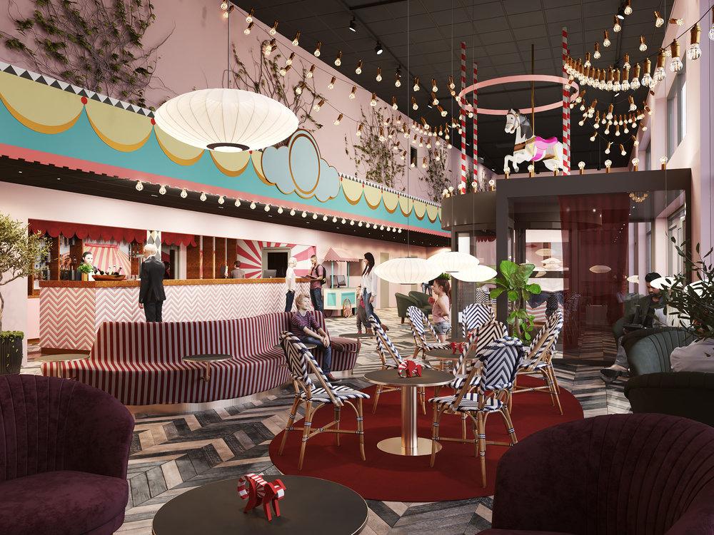 Åby Hotel - Det nya hotellet kommer ståta med hela 223 rum fördelat på 16 våningar. Nu sällar sig Åby till raden av förstklassiga hotellanläggningar i HKC Hotels proffsiga regi.