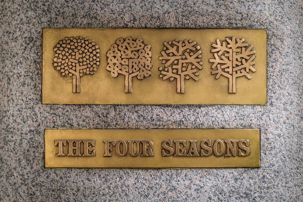 Twilight of The Four Seasons - The last days of the most legendary restaurant in America.This piece was a finalist for the 2017 James Beard Award.