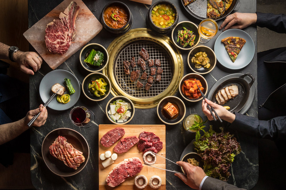 The Food - Cote blends high-quality American Steakhouse cuts with Korean BBQ's tabletop cooking experience.
