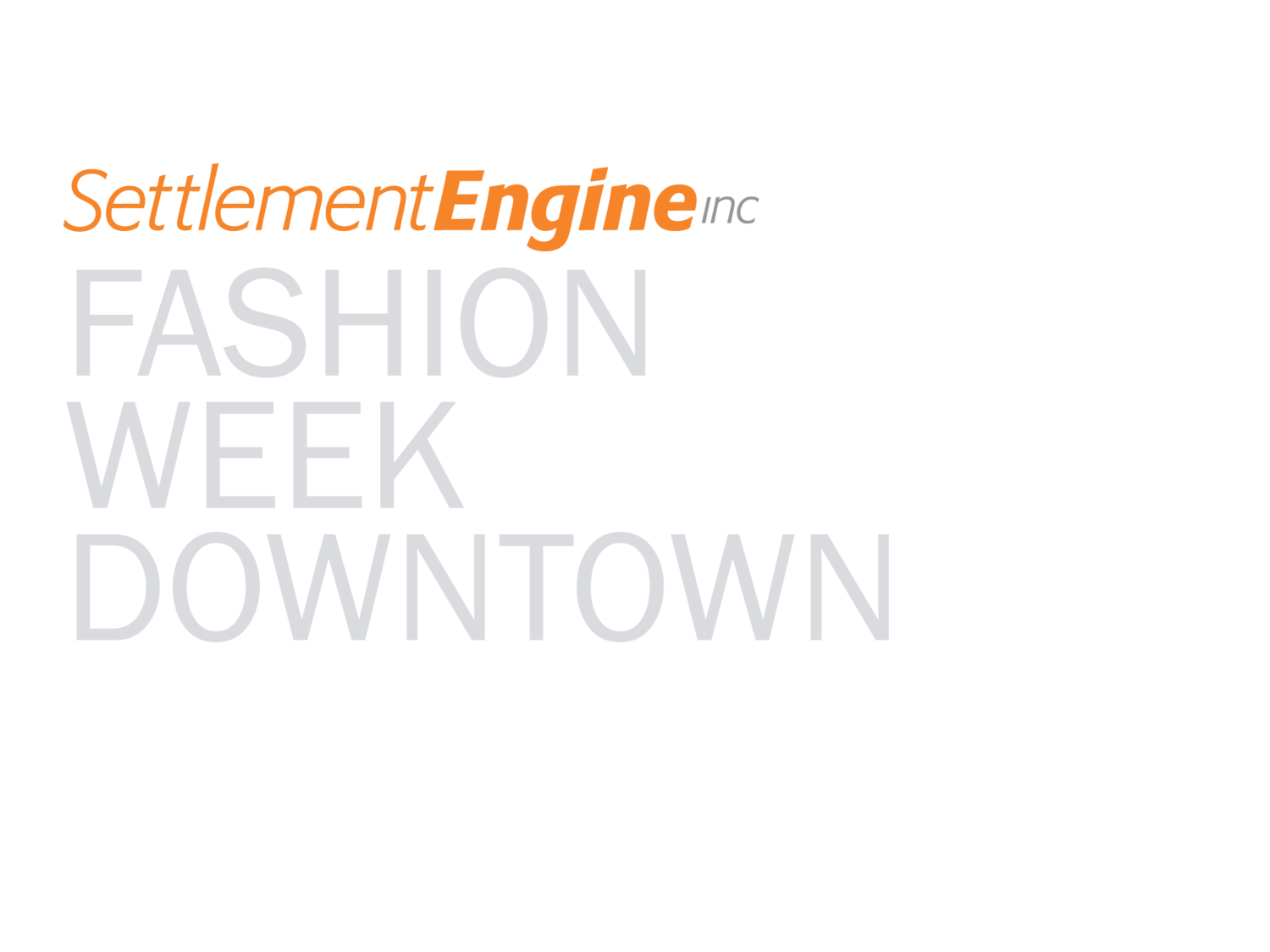 Fashion Week Downtown