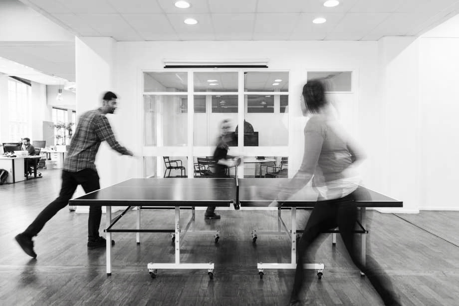 The Ping Pong Table - These tables were the start of companies (mainly startups) injecting what they believed to be 'fun' into the workplace. It didn't take long for them to discover that there are better (less annoying) options to provide a much-needed serotonin boost.