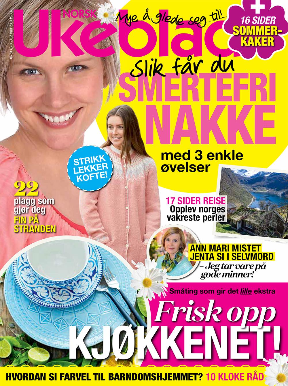 NORSK UKEBLAD: Utgave nr. 24 i 2017