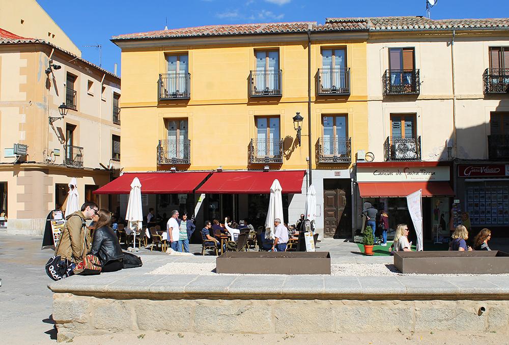 ROMANTIKK: Ja, Ávila er en vakker og romantisk by. Foto: Hedda Bjerén