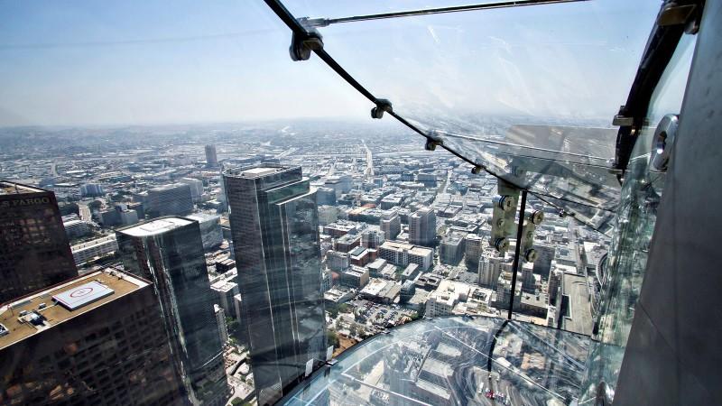GREI UTSIKT: Sånn ser det ut når du sitter i sklia, klar til å suse nedover. Foto: Oue-skyspace.com