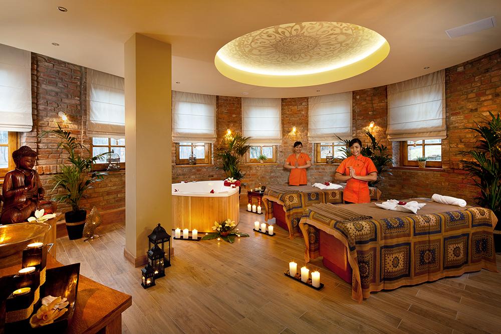 BALI: Det er tydelig at hotellet er inspirert av Bali. Foto: Dolina Charlotty