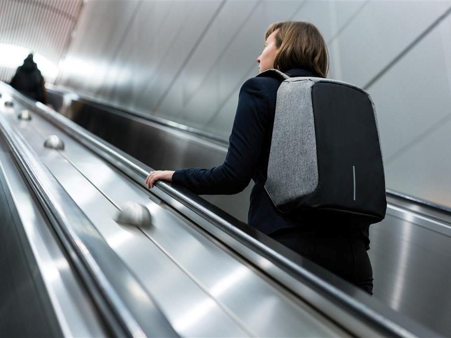 PERFEKT REISEPARTNER: Den tyverisikre ryggsekken, Bobby, fra  Coolstuff.no  er super å ha med på reise.
