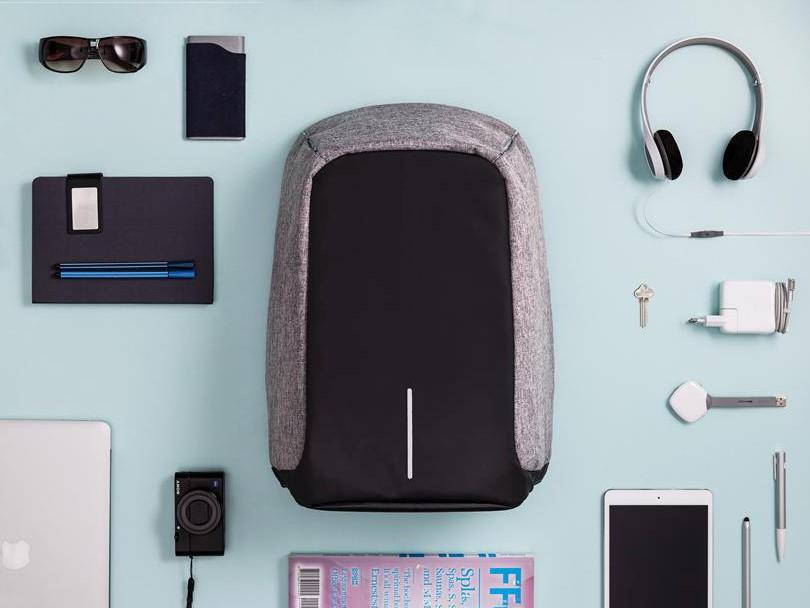 GOD PLASS: Denne ryggsekken er super å ha med på ferie, her får du plass til alt du trenger å ha med deg.