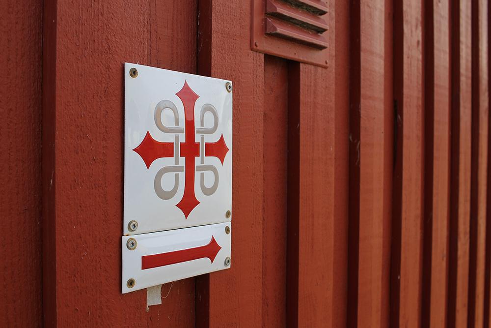 PILEGRIMSVANDRING: Rutene er godt merket. Foto: Tenk Koffert