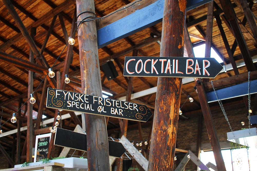STORMS PAKHUS: Her finner du hele seks forskjellige barer, bare å velge og vrake - og drikke og kose deg. Foto: Tenk Koffert