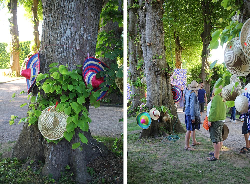 RØDE KORS BUTIK: Sombrero eller solhatt? Valget er ditt! Foto: Tenk Koffert