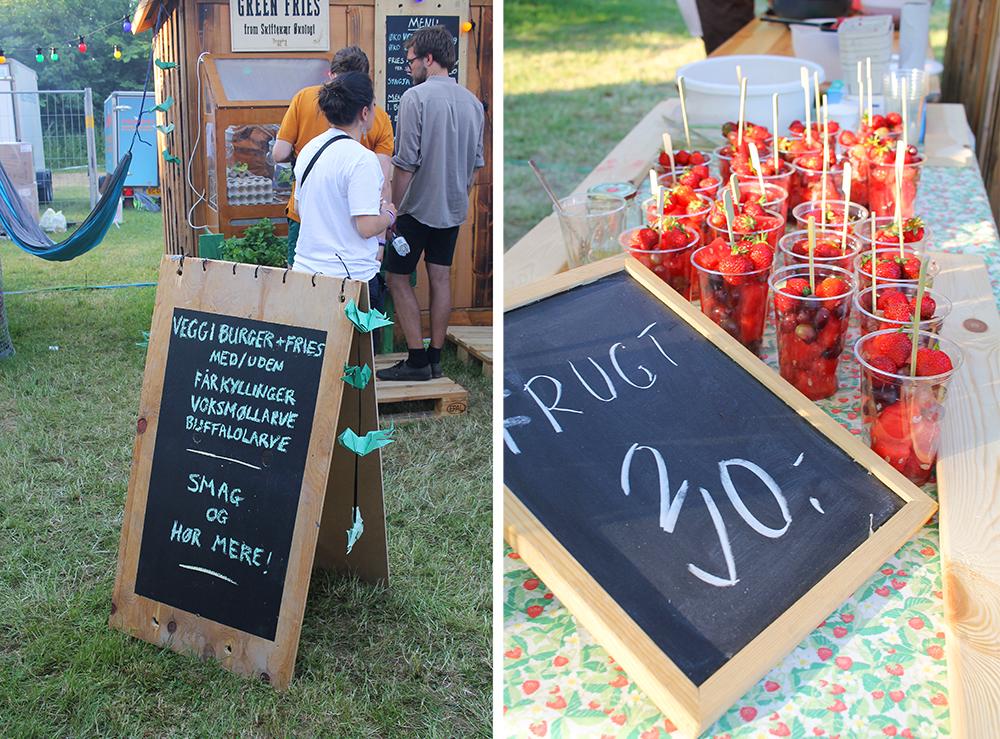 MAT FOR ALLE: Enten du liker fersk, lokal frukt eller du foretrekker insekter (!) så får du det på Heartland. Foto: Tenk Koffert