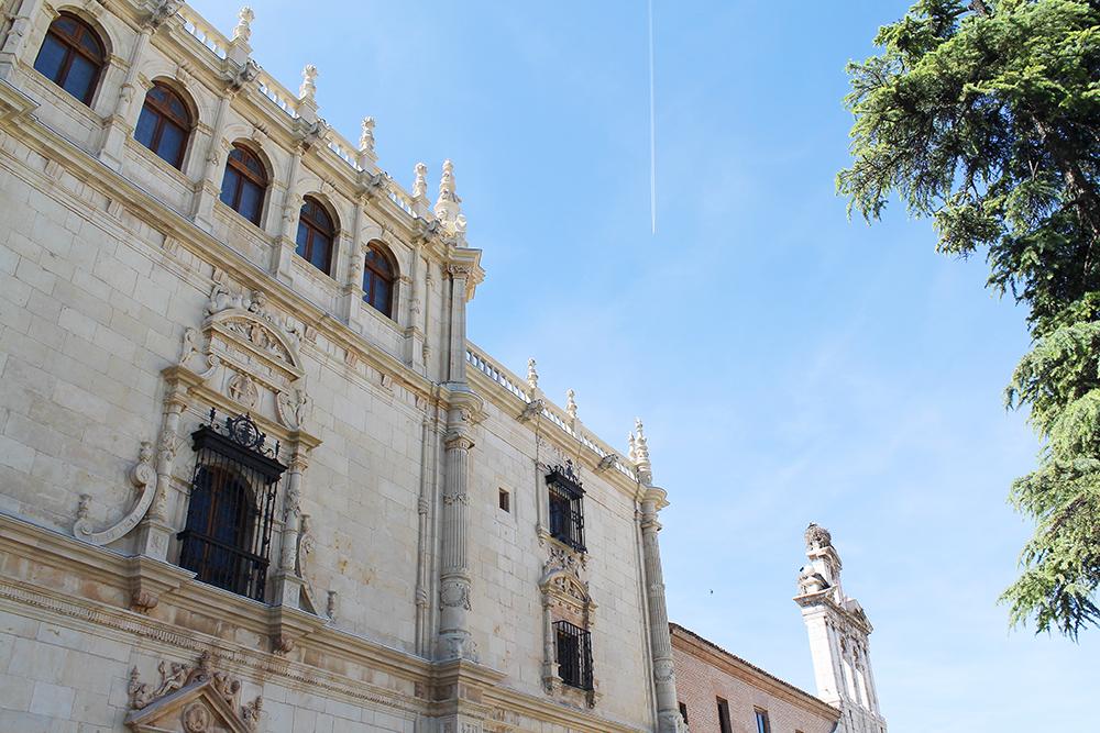 FIN FASADE: Universitetet i Alcala ser ut som et slott, synes jeg. Foto: Reisebloggen Tenk Koffert