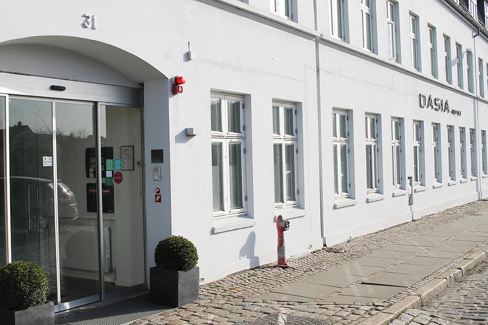 HOTEL OASIA: Hotellet ligger sentralt i Aarhus, i Kriegersvej. Foto: Tenk Koffert