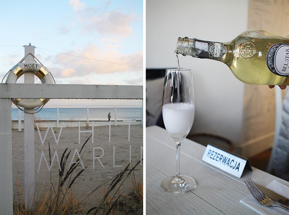 WHITE MARLIN: Denne restauranten ligger helt nede ved stranden, og har en nydelig uteservering på sommeren. Foto: Tenk Koffert
