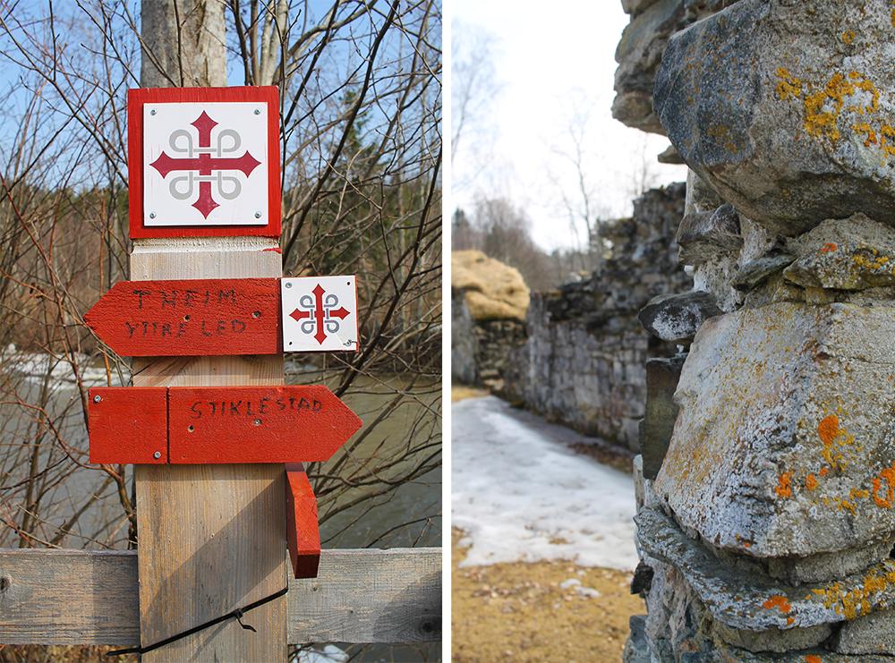 ST. OLAVSLEDEN: Velg selv om du vil gå hele ruten eller ta et kortere alternativ. Foto: Tenk Koffert