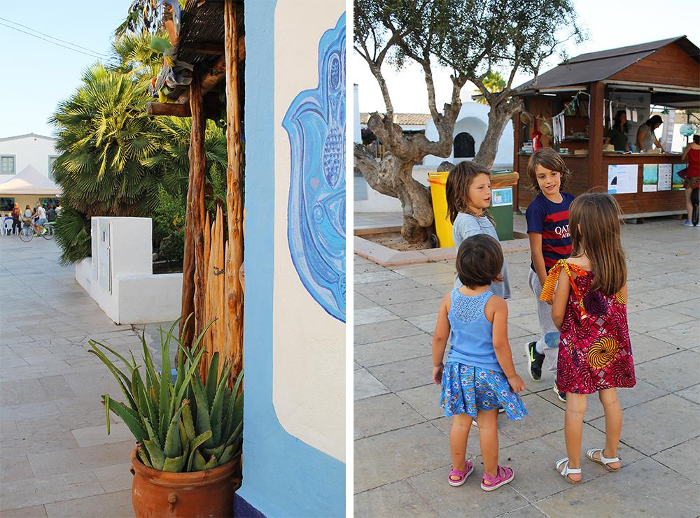 SAN FRANCESC: Søte unger, fine farger og sjarmerende stil i denne lille byen. Foto: Tenk Koffert