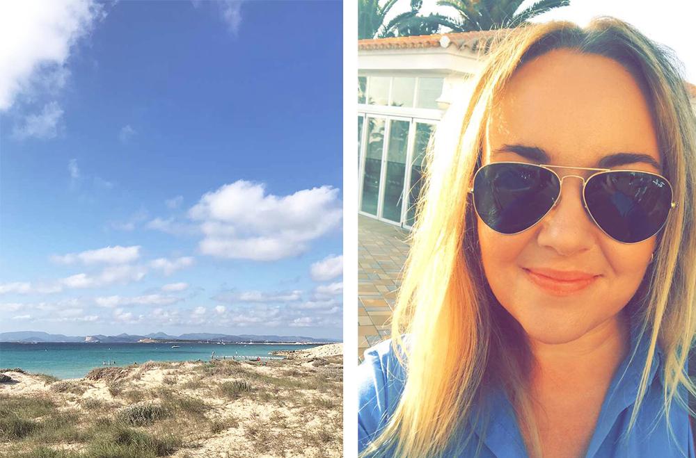 TENK KOFFERT PÅ FORMENTERA: Jeg koste meg veldig på Formentera, og vil gjerne tilbake. Foto: Tenk Koffert