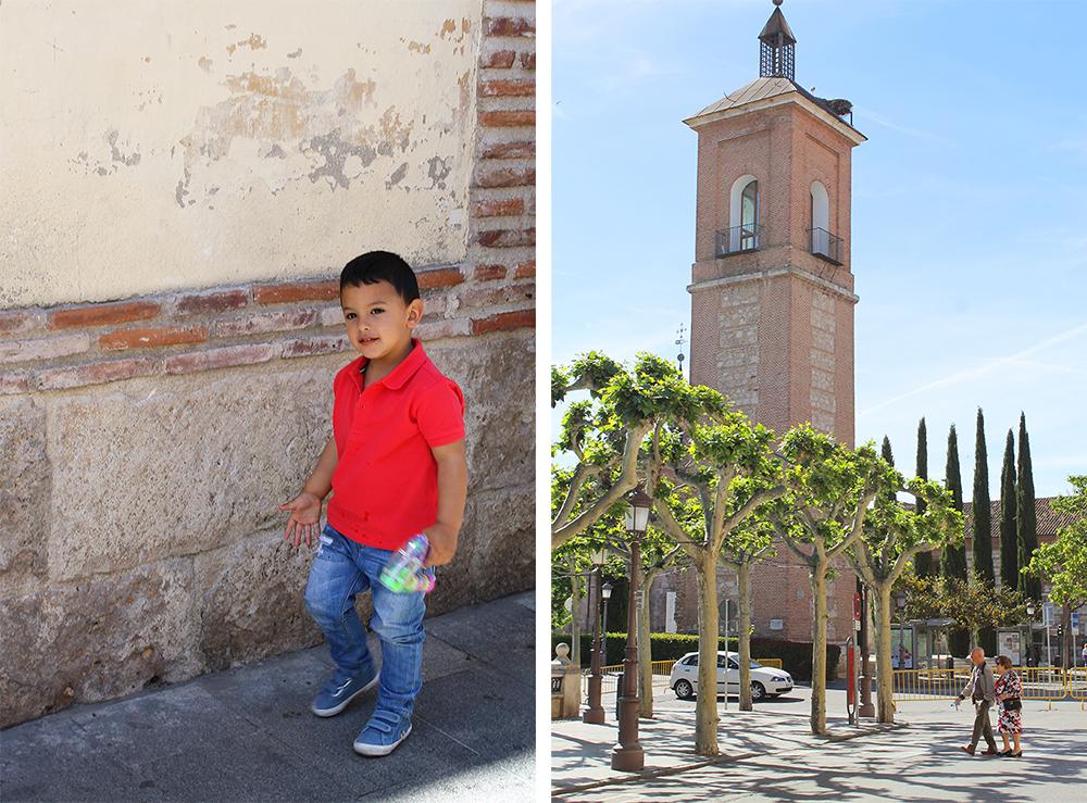 ALCALA DE HENARES: Jeg møtte både unge og gamle i denne fine byen, men selv om det er en stor by, følte jeg aldri at det var  for  folksomt.. Foto: Reisebloggen Tenk Koffert