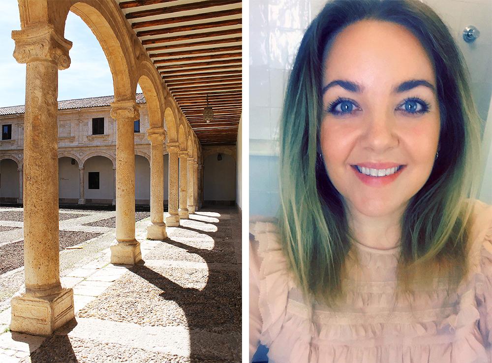TENK KOFFERT I ALCALA DE HENARES: Selfietime i Alcala! Foto: Reisebloggen Tenk Koffert