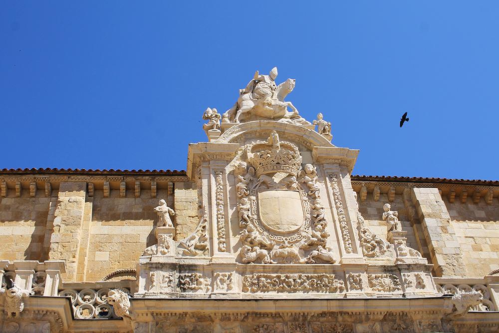 LEÓN: Imponerende arkitektur på alle kanter. Foto: Tenk Koffert