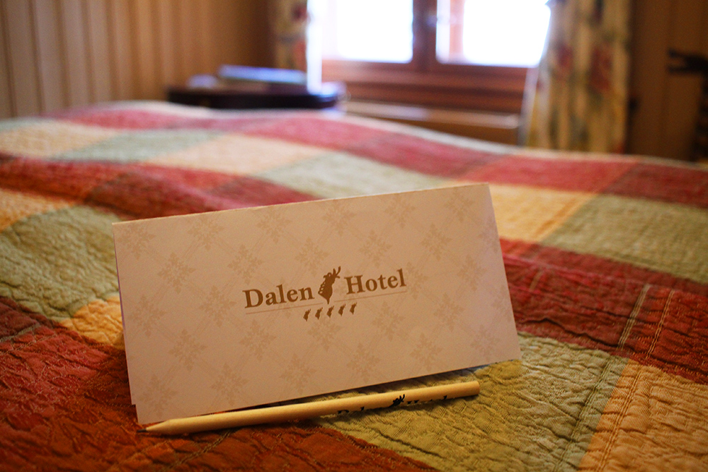 DALEN HOTEL: Fine rom som står i stil til hotellet forøvrig. Foto: Tenk Koffert