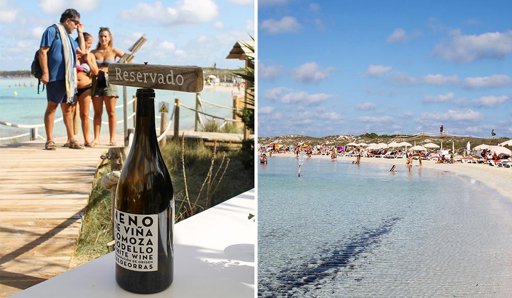 OKTOBER: Tid for lunsj på Formentera. Foto: Tenk Koffert