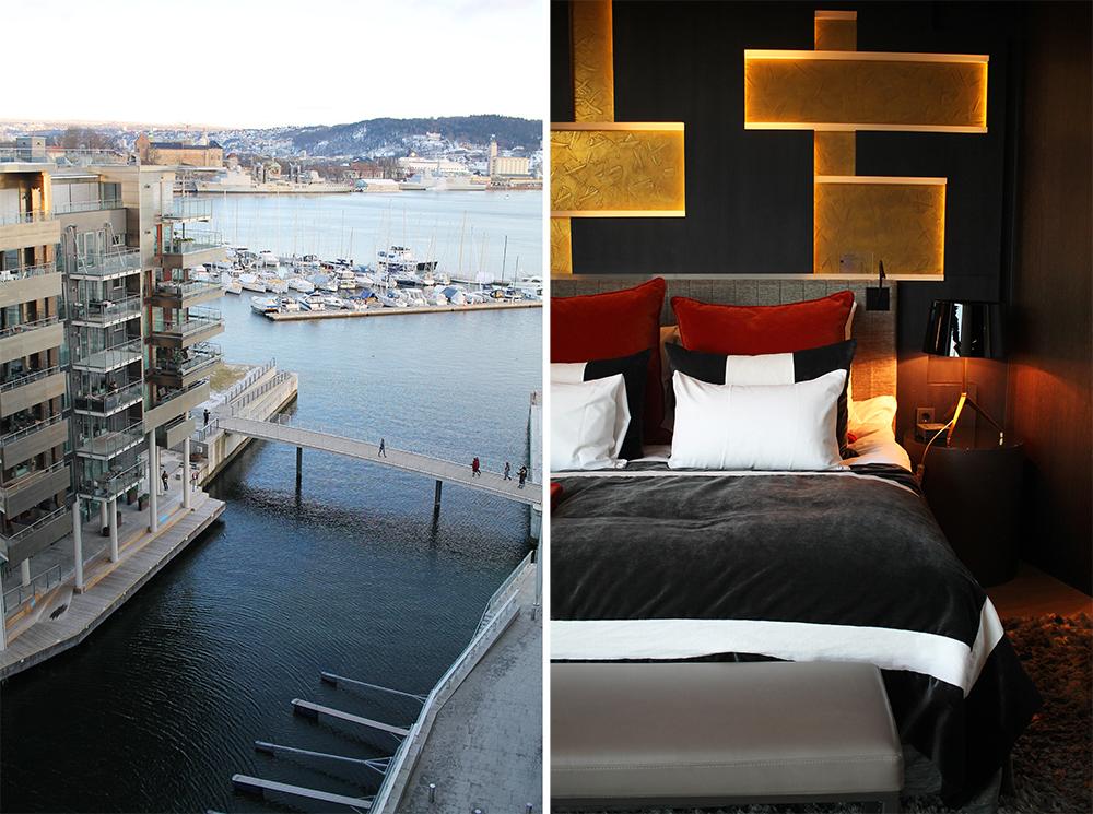 FEBRUAR: Hotellet The Thief ligger på Tjuvholmen i Oslo, med umiddelbar nærhet til Oslofjorden. Foto: Tenk Koffert