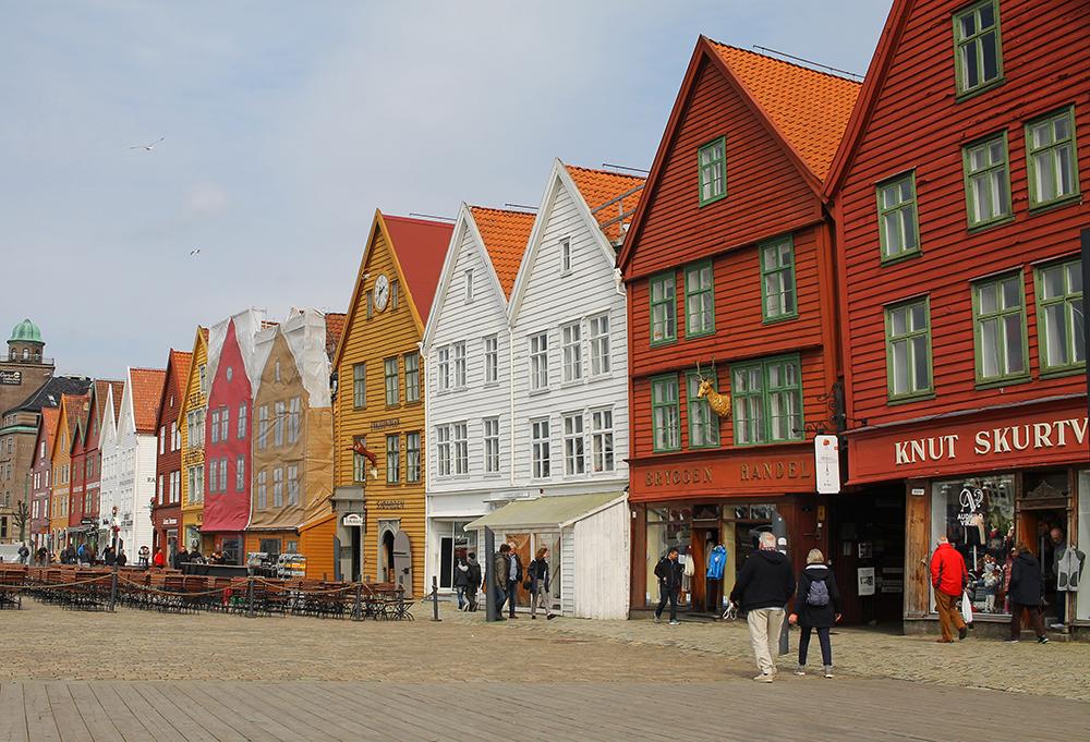 MAI: I mai reiste jeg til fine Bergen by! Foto: Tenk Koffert