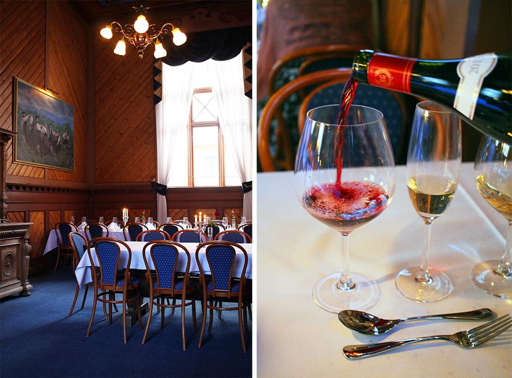 RESTAURANT BANDAK: Restauranten på Dalen Hotel byr på fantastisk mat og vin - en middag her bør stå på din  bucket list . Foto: Tenk Koffert