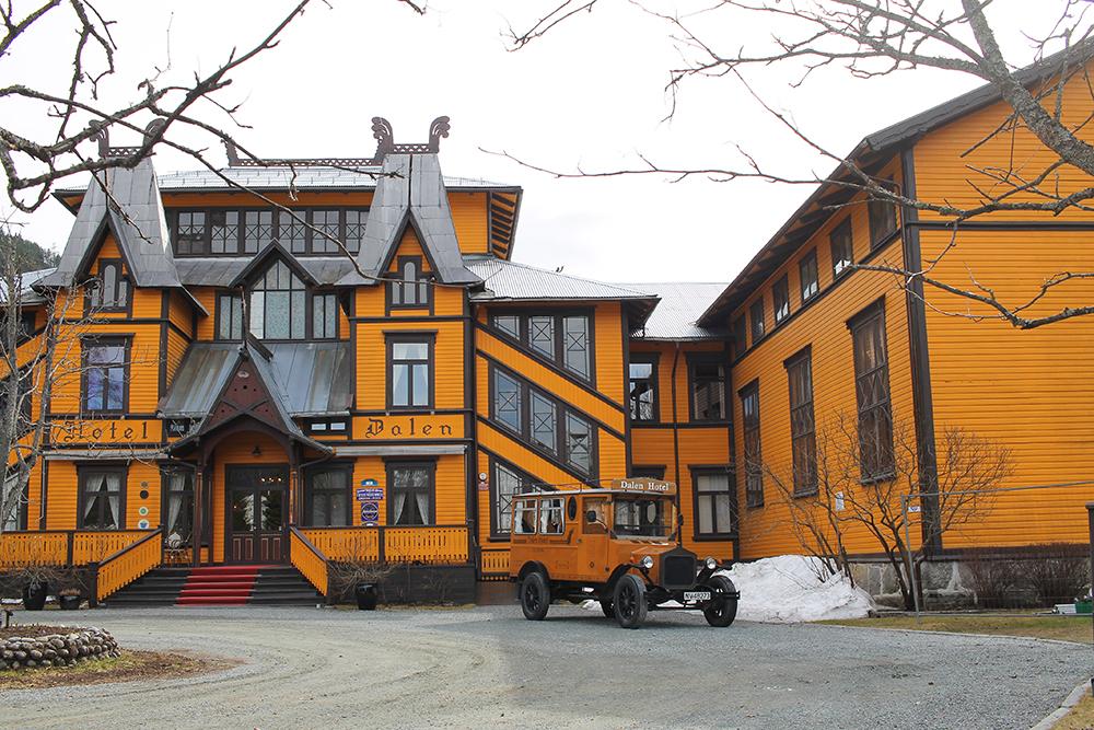 DALEN HOTEL: Jeg kan varmt anbefale å ta turen hit. Foto: Tenk Koffert