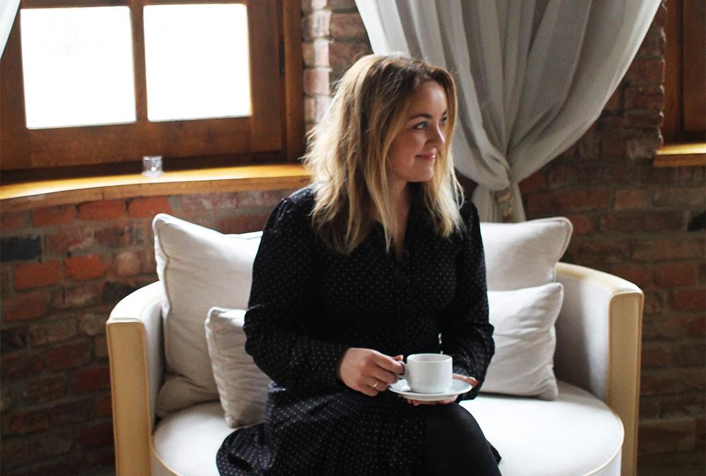 TENK KOFFERT I POLEN: Jeg koser meg stort på besøk i Polen. Foto: Kristina Quintano