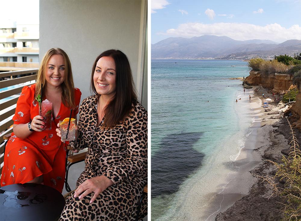 SEPTEMBER: I september dro jeg til Kreta med Agneta. Foto: Tenk Koffert
