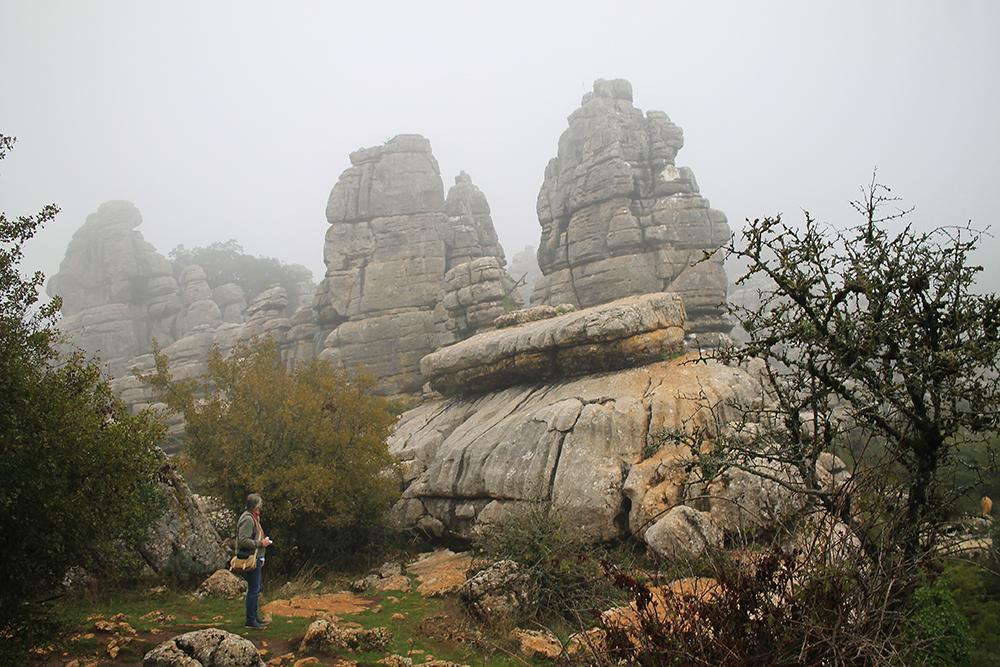 OKTOBER: Jeg besøkte blant annet naturparken Torcal de Antequera, og fikk se et helt unikt landskap. Foto: Tenk Koffert