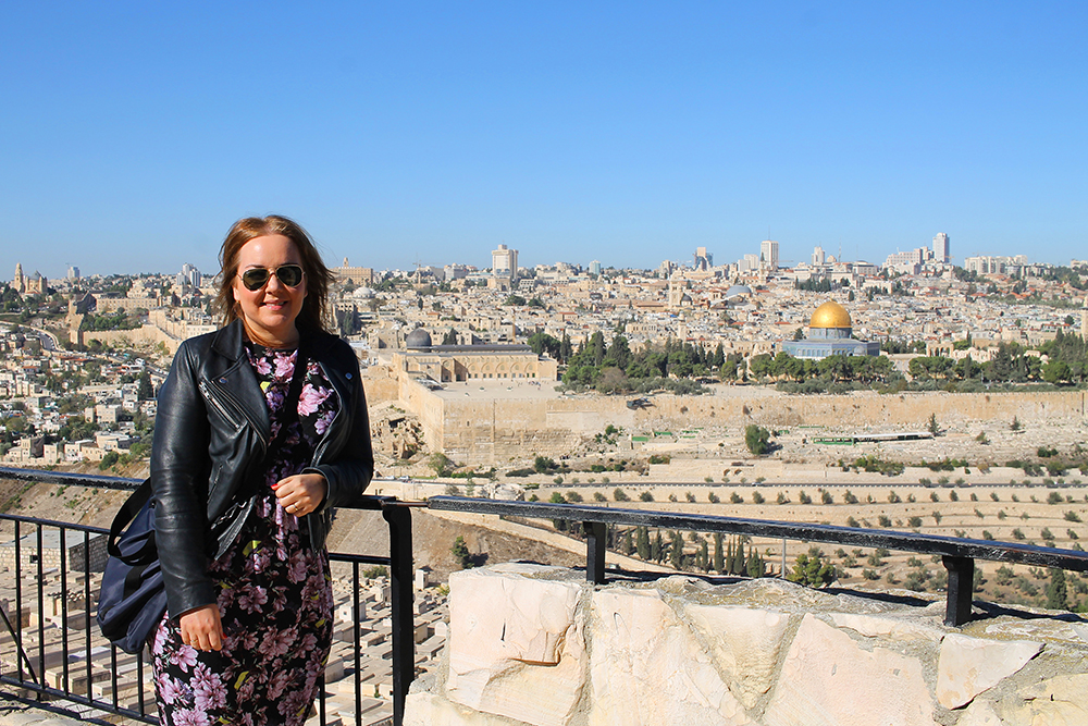 NOVEMBER: Bak meg ser du Jerusalem. Foto: Mari Bareksten