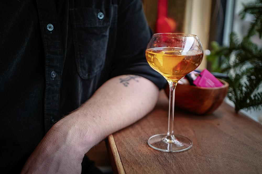 DESEMBER: Lekker og god drink laget av World Class-bartender, Jonas Junge.. Foto: Helle Øder Valebrokk